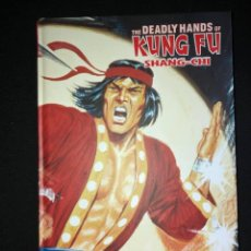 Cómics: THE DEADLY HANDS OF KUNG FU-SHANG-CHI, MARVEL LIMITED EDITION-PANINI. Lote 222138730