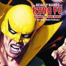Cómics: DEADLY HANDS OF KUNG FU : PUÑO DE HIERRO - PANINI / MARVEL LIMITED EDITION. Lote 222190872