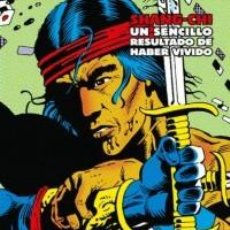 Cómics: SHANG-CHI 6 (MARVEL LIMITED EDITION) IMPECABLE. Lote 222199391