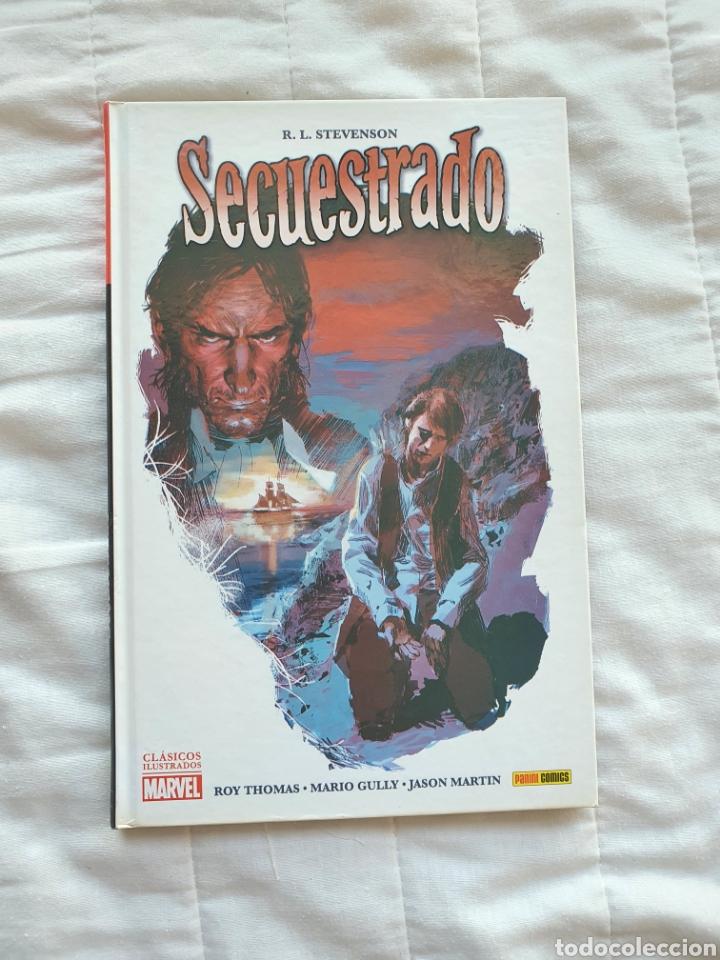 SECUESTRADO, CLASICOS ILUSTRADOS MARVEL , PANINI (Tebeos y Comics - Panini - Otros)