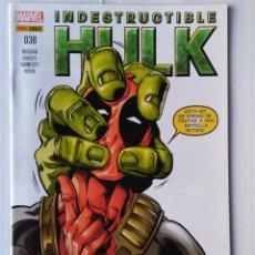 Cómics: INDESTRUCTIBLE HULK VOLUMEN 2 NUMERO 38. Lote 222231275