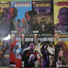 Cómics: LOS DEFENSORES 01 A 09 (COMPLETA). BRIAN M. BENDIS. PANINI. Lote 222294890