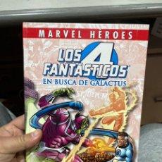 Cómics: LOS 4 FANTÁSTICOS - EN BUSCA DE GALACTUS - MARVEL HEROES - MARV WOLFMAN. Lote 222408931