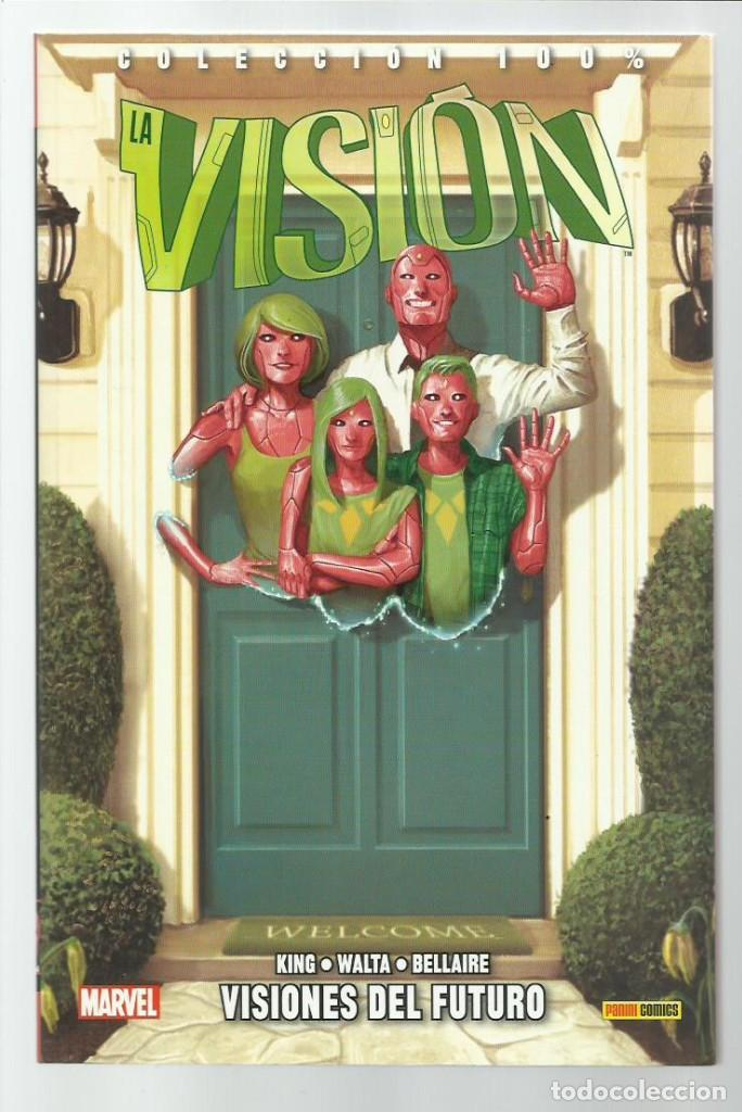 LA VISIÓN 1: VISIONES DEL FUTURO, 2016, PANINI, IMPECABLE (Tebeos y Comics - Panini - Marvel Comic)