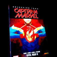 Cómics: DE KIOSCO CAPITANA MARVEL CIVIL WAR II 6 PANINI. Lote 222522636