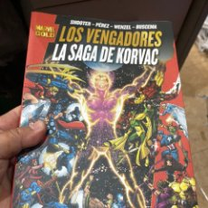Cómics: LOS VENGADORES:MARVEL GOLD LA SAGA DE KORVAC. Lote 222534375