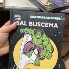 Cómics: GRANDES AUTORES: SAL BUSCEMA - LA MASA - (MARVEL / FORUM) HULK. Lote 222535872