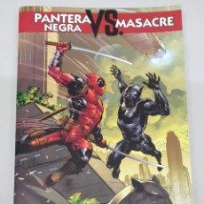 Cómics: PANTERA NEGRA VS . MASACRE : POR UN PUÑADO DE VIBRANIUM / MARVEL - PANINI. Lote 222535987