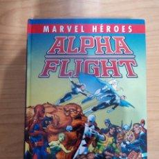 Cómics: MARVEL HEROES - ALPHA FLIGHT (JOHN BYRNE). Lote 222541238