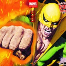 Cómics: MARVEL LIMITED EDITION. THE DEADLY HANDS OF KUNG FU: PUÑO DE HIERRO. Lote 222623111