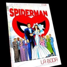 Cómics: DE KIOSCO SPIDERMAN 19 LA BODA LA COLECCION DEFINITIVA PANINI COMICS. Lote 222631708