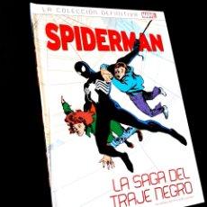 Cómics: DE KIOSCO SPIDERMAN 14 LA SAGA DEL TRAJE NEGRO LA COLECCION DEFINITIVA PANINI COMICS. Lote 222635667