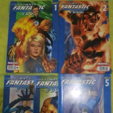 Cómics: ULTIMATE FANTASTIC FOUR 1 A 5. PANINI. Lote 222639833