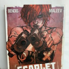 Cómics: SCARLET , BENDIS-MALEEV. Lote 222649487