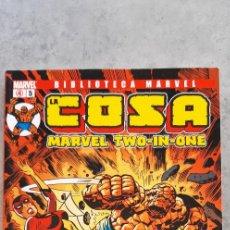 Cómics: BIBLIOTECA MARVEL LA COSA MARVEL TWO-IN-ONE Nº 5. Lote 222651028