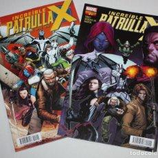 Cómics: LA INCREIBLE PATRULLA-X NÚMS. 01 + 02 .(- COMO NUEVOS Y REBAJADOS -). Lote 222702762