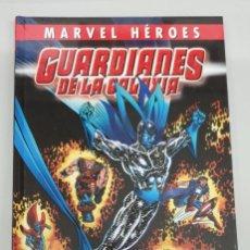 Cómics: MARVEL HEROES GUARDIANES DE LA GALAXIA : EL REGRESO DE HALCON ESTELAR / PANINI. Lote 222703260