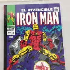 Cómics: MARVEL GOLD : IRON MAN TOMO 2 : POR LA FUERZA DE LAS ARMAS / PANINI. Lote 222703603