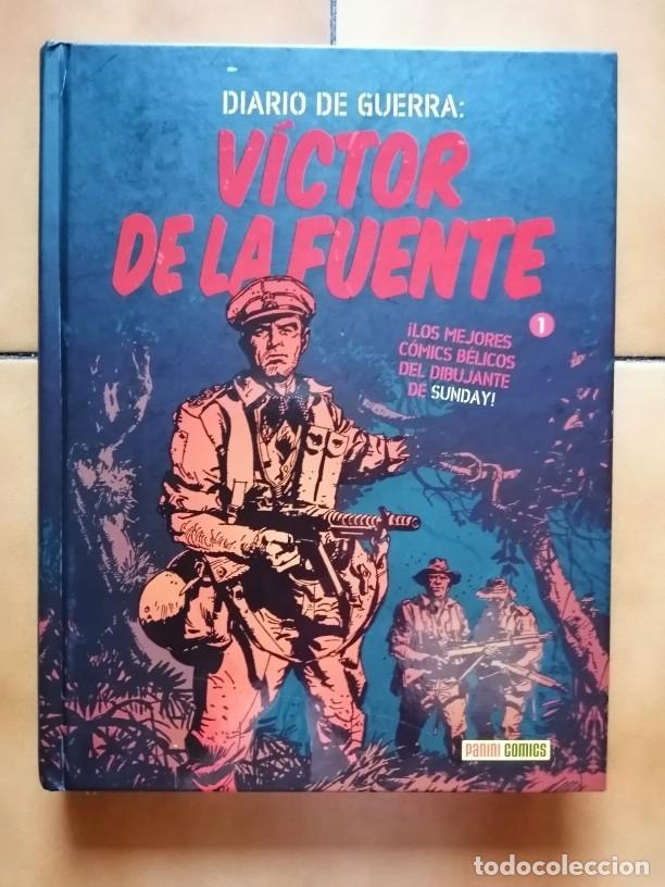 DIARIO DE GUERRA 1 - VICTOR DE LA FUENTE - PANINI - DIFICIL (Tebeos y Comics - Panini - Otros)