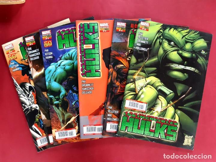 LOS INCREÍBLES HULKS - NUMEROS : 2-3-8-9-11-12 (Tebeos y Comics - Panini - Marvel Comic)