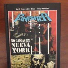 Cómics: TOMO CARTONE. PUNISHER. NO CAIGAS EN NUEVA YORK. ENNIS Y DILLON. Lote 223807190