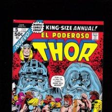 Cómics: MARVEL FACSÍMIL - 17 - EL PODEROSO THOR ANNUAL 5 - KING-SIZE ANNUAL 5 - PANINI -. Lote 223923393