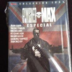 Cómics: COLECCION 100%- PUNISHER MAX ESPECIAL-LA CAZA DE CASTLE-PANINI-MUY DIFICIL. Lote 223938765
