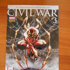 Comics: CIVIL WAR Nº 3 - MARVEL - PANINI (E2). Lote 224447708
