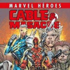 Cómics: CABLE & MASACRE 2 : CIVIL WAR - PANINI / MARVEL HEROES 97 / TAPA DURA / NUEVO Y PRECINTADO. Lote 224597247