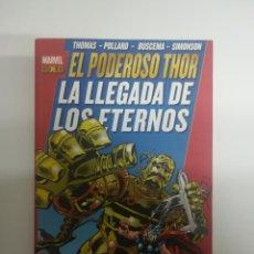 Cómics: PODEROSO THOR LA LLEGADA DE LOS ETERNOS (MARVEL GOLD). Lote 225222846