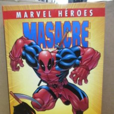 Cómics: MARVEL HEROES MASACRE / DEADPOOL - TOMO TAPA DURA / JOE KELLY - PANINI. Lote 225335430