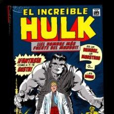 Cómics: EL INCREIBLE HULK 1 : HOMBRE O MONSTRUO ? - PANINI / MARVEL OMNI GOLD / NUEVO Y PRECINTADO. Lote 183198122