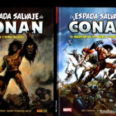 Cómics: LA ESPADA SALVAJE DE CONAN 1 2 3 4 5 6 7 8 - PANINI / MARVEL / BIBLIOTECA CONAN. Lote 225506240