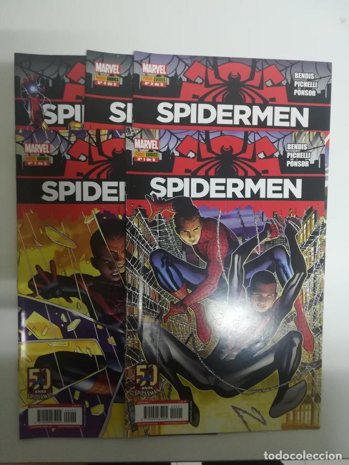 SPIDERMEN COLECCIÓN COMPLETA (5 NUMEROS) (Tebeos y Comics - Panini - Marvel Comic)