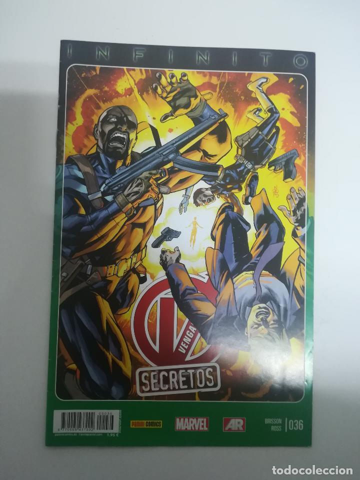 VENGADORES SECRETOS #36 (Tebeos y Comics - Panini - Marvel Comic)