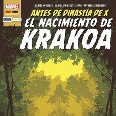 Cómics: EL NACIMIENTO DE KRAKOA. ANTES DE DINASTIA DE X. Lote 225535055