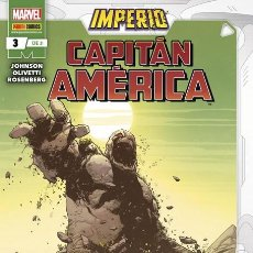 Cómics: IMPERIO: CAPITAN AMERICA 03. Lote 225543603