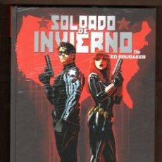 Cómics: SOLDADO DE INVIERNO DE ED BRUBAKER - PANINI / MARVEL OMNIBUS / EDICION INTEGRAL / TAPA DURA. Lote 224394876