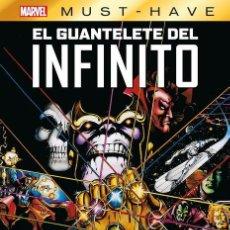 Cómics: MARVEL MUST-HAVE. EL GUANTELETE DEL INFINITO. Lote 225548448