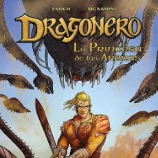 Cómics: DRAGONERO 7 : LA PRINCESA DE LAS ARENAS - PANINI / BONELLI / COMIC EUROPEO / TAPA DURA. Lote 225577495