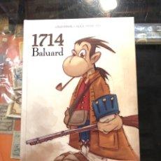 Cómics: 1714 BALUARD - CELS PIÑOL • ÁLEX SANTALÓ - PANINI COMICS (CATALÀ). Lote 225599425