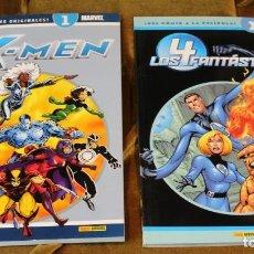 Cómics: X-MEN Nº 1, LOS 4 FANTÁSTICOS Nº 1, PANINI. Lote 225762725