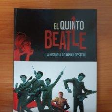 Cómics: TOMO INTEGRAL EL QUINTO BEATLE LA HISTORIA DE BRIAN EPSTEIN EDITORIAL PANINI 5% DE DESCUENTO. Lote 225773242