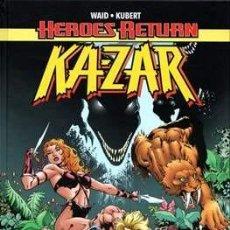 Cómics: HEROES RETURN KAZAR - LA JUNGLA DE ASFALTO - PANINI KA-ZAR - MARK WAID & ANDY KUBERT. Lote 227255895