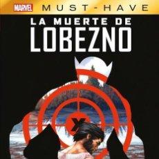 Cómics: LA MUERTE DE LOBEZNO - PANINI / MARVEL MUST-HAVE 10 / TAPA DURA. Lote 227272680