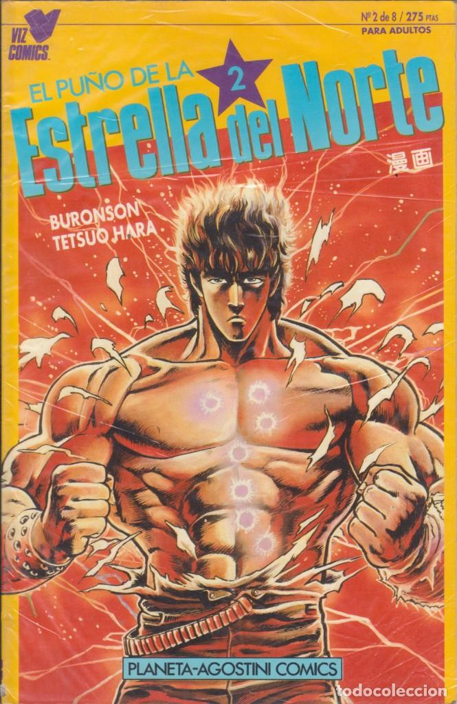 COMIC TOMO EL PUÑO DE LA ESTRELLA DEL NORTE Nº 9 MANGA ED. PLANETA / VIZ 48 PGS. (Tebeos y Comics - Panini - Marvel Comic)