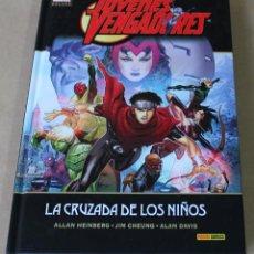 Fumetti: MARVEL DELUXE PANINI - JÓVENES VENGADORES 3 - LA CRUZADA DE LOS NIÑOS - NUEVO. Lote 227989237