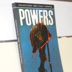 Cómics: COLECCION 100 % CULT COMICS POWERS LAS AGUILAS INTREPIDAS BENDIS - PANINI. Lote 228194541