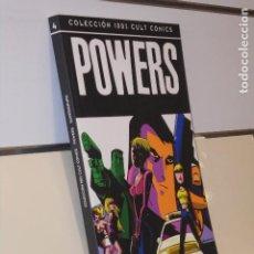Cómics: COLECCION 100 % CULT COMICS POWERS Nº 4 SUPERGRUPO BENDIS - PANINI. Lote 228198040
