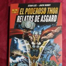 Cómics: MARVEL GOLD . EL PODEROSO THOR . RELATOS DE ASGARD. PANINI. Lote 228212600